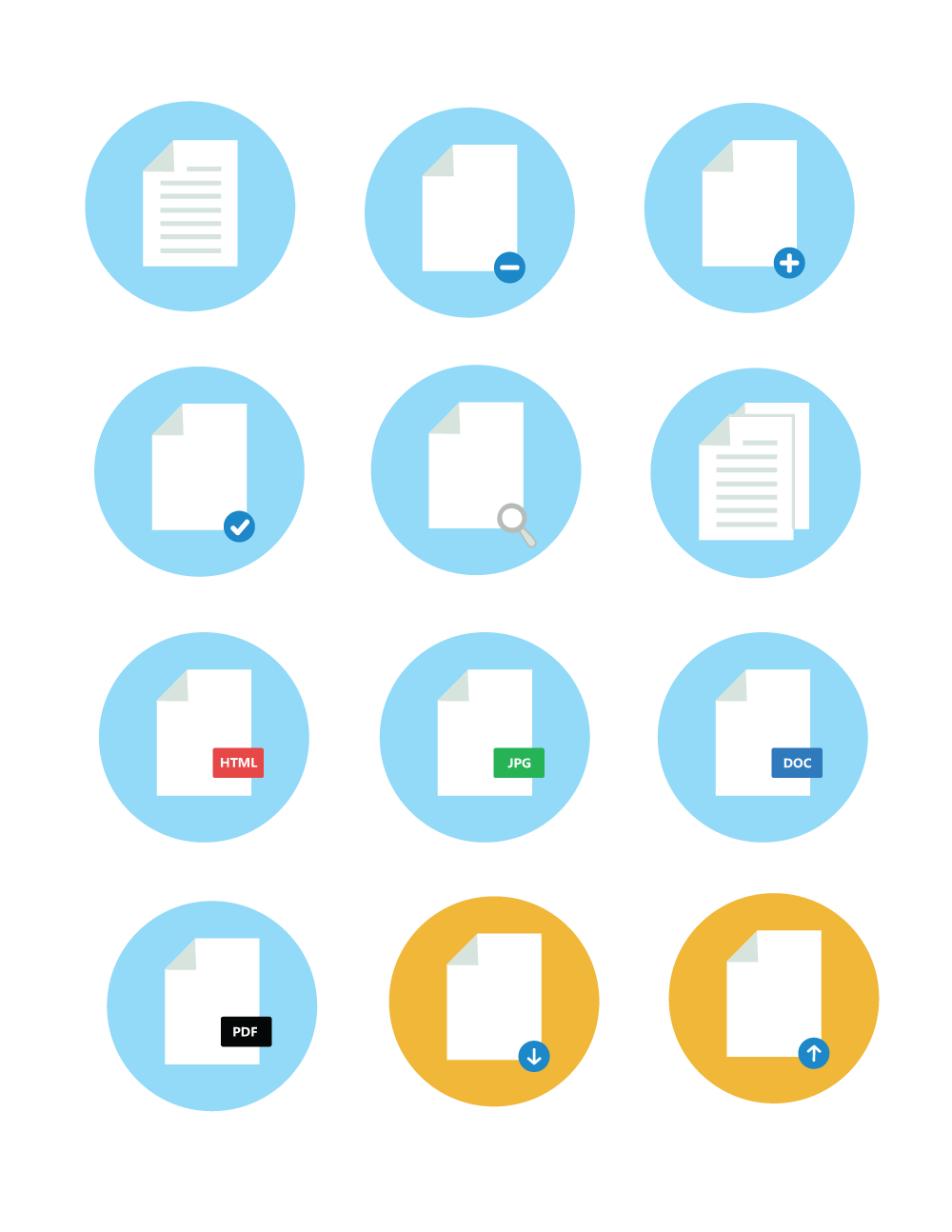 Free File Icon Pack