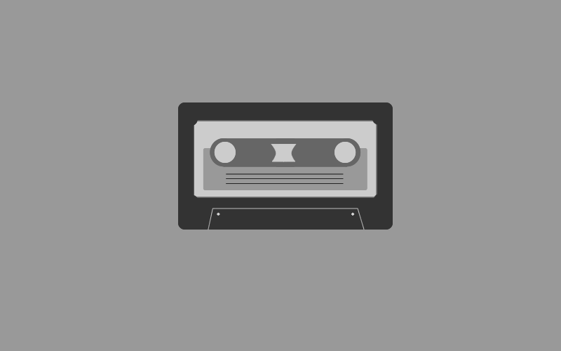 Free Cassette Vector Graphic