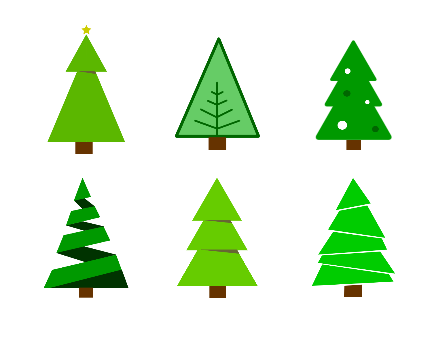 Christmas Tree Vector.Free Colour Chirstmas Tree Vector Graphics The Web Taylor
