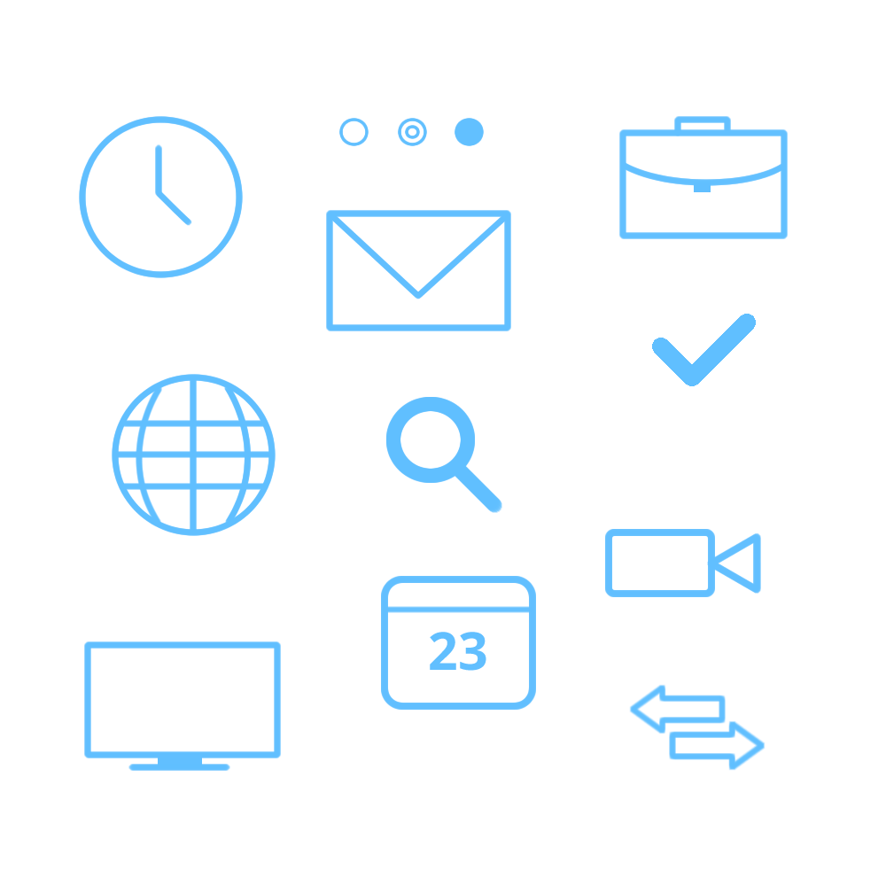 Free Flat Office Icon Pack