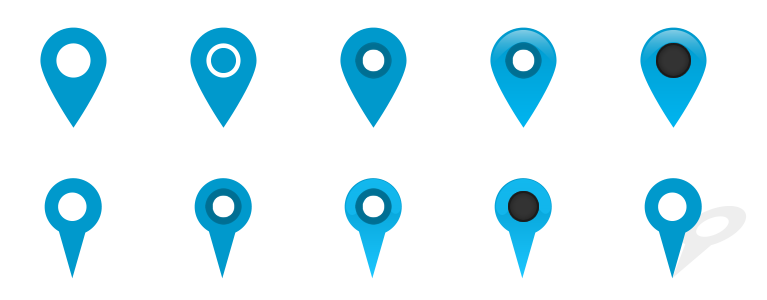 Pin Location Map Free Vector Graphic On Pixabay: Free Map Marker Pin Icons PSD