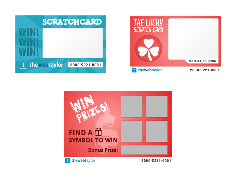 Free Scratch Cards >> Free Scratch Card Vector Graphic Pack The Web Taylor